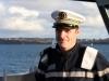 le capitaine de corvette Stanislas Marande commandant du patrouilleur léger guyanais (PLG) La Confiance