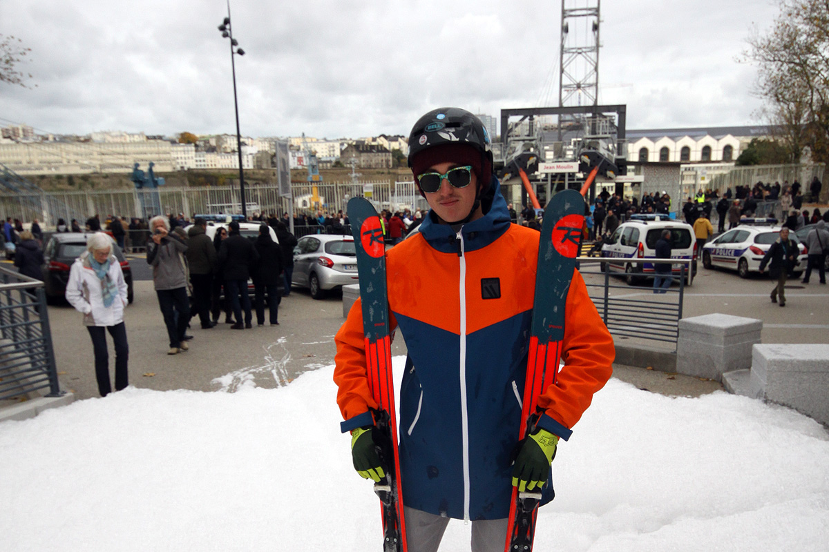 Skieur brestois
